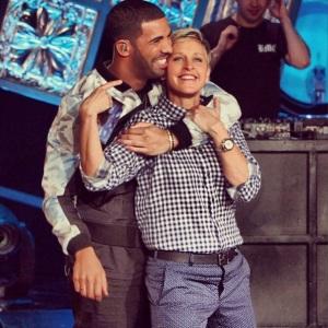Drake-on-Ellen